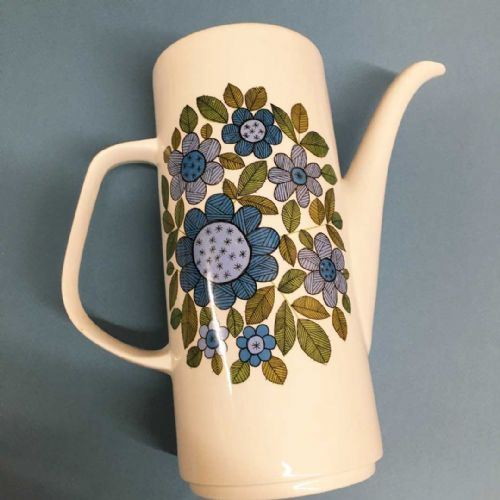 J & G Meakin Studio Coffee Pot & Lid - Topic 60s